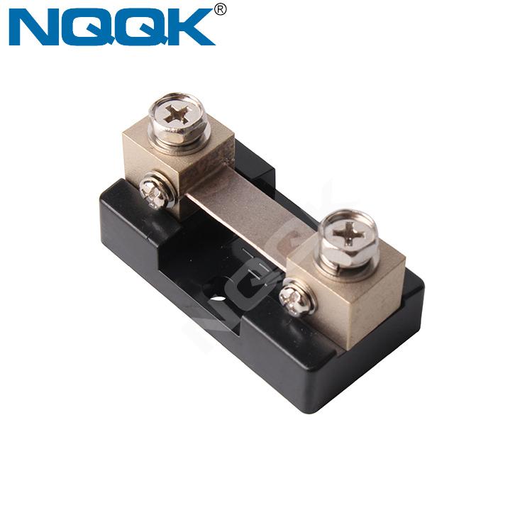 NK9999 50A 75mV DC Arus Listrik Dasar khusus Dipasang Resistor shunt meter