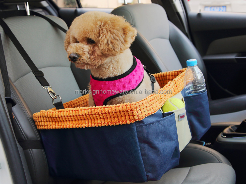 Collapsible Pet Booster Seat Dog Car