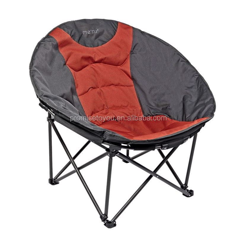 Camping folding moon chair of aldut outdoor use