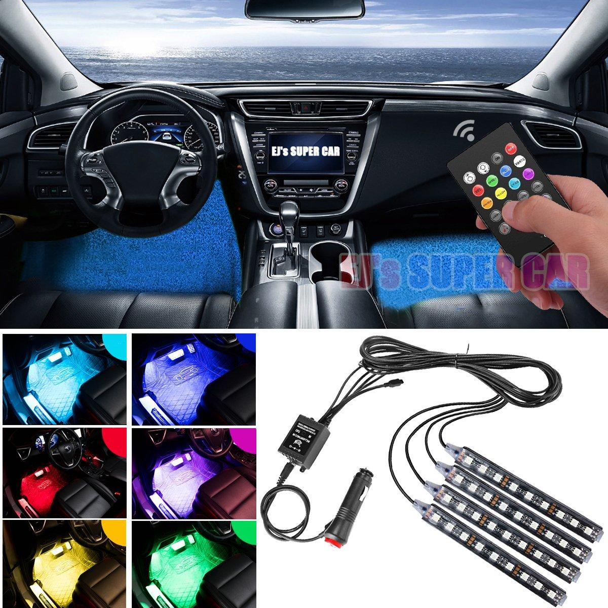 Buy Car LED Strip Light, EJs SUPER CAR 4pcs 36 LED Car