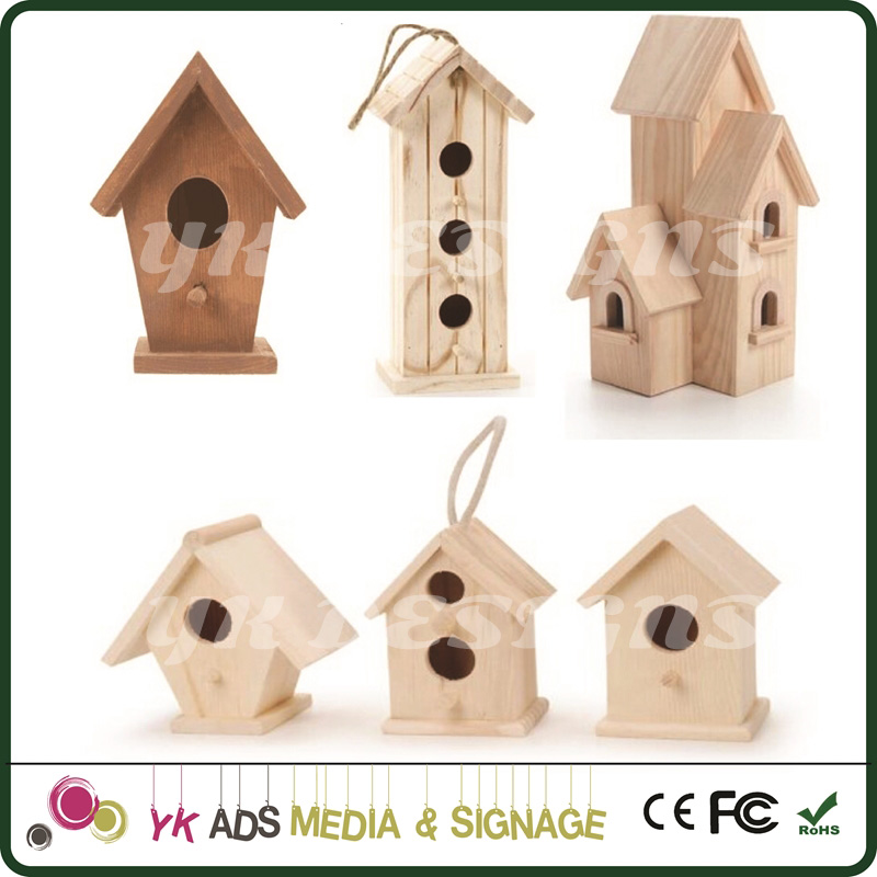 bird house wood for home store street