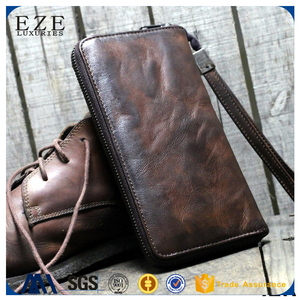 human bi fold gary leather travel ticket wallets