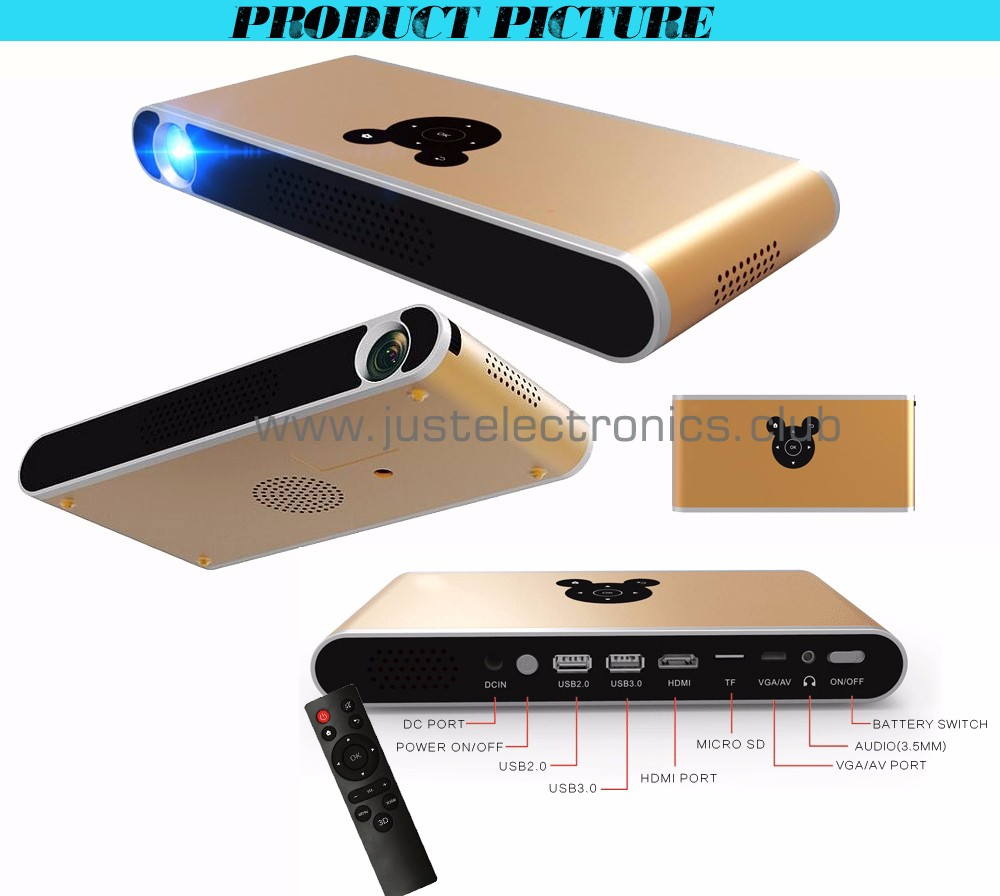 New products 2016 smart mini projector mobile phone high for What s the best pocket projector