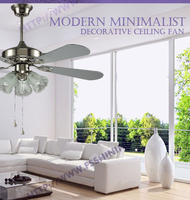 "home appliances 48"" crystal ivory international decorative ceiling fan"