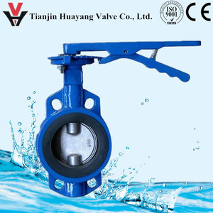 wafer & lug center line butterfly valve from tianjin factory competive price hot sell