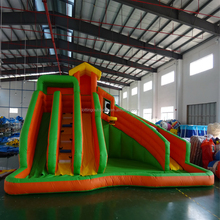 PVC Material inflatable bouncy castle with water slide 4 in 1 inflatable combo
