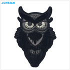 Letter peacock lip glitter cloth fabric hat rose logo unicorn tiger 3d flower military heat woven iron embroidered custom patch