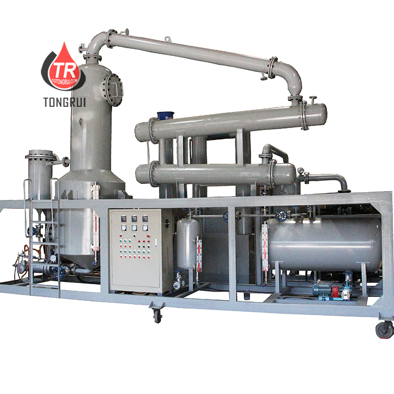SN300 Base Oil Recycling Multifunctional waste Engine Oil Refining Distillation Equipment