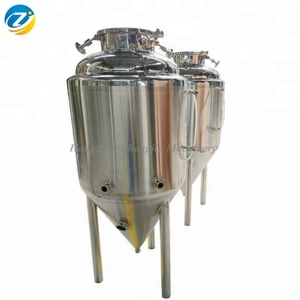 Micro Brewery Equipment Craft Brewing 500L/600L Stainless Steel Beer Fermenter