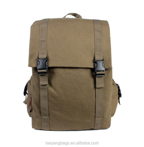New arrival Canvas backpack school bags for men