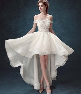 Sexy Short Front Long Back Wedding Dress Wholesale Wedding Dress