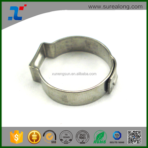 Hot sale One Ear pipe stainless steel clamps