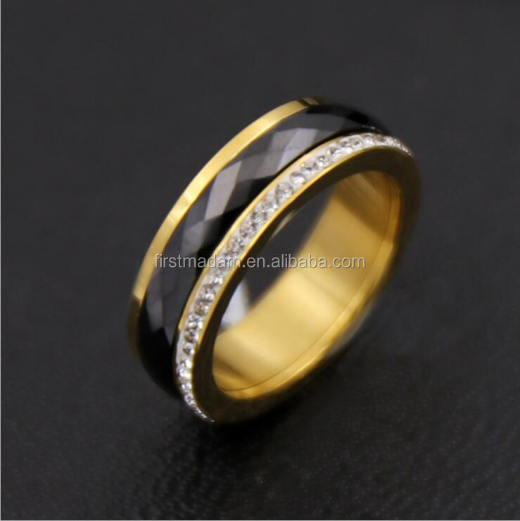 Hot Selling Black Templar Gold Filled Ring