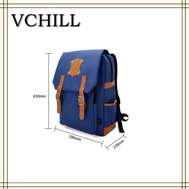 Fashion designed school backpack bag cheap nylon scool bag VC-10414
