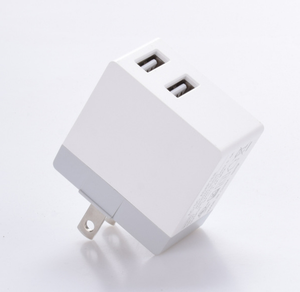 5V2.1A dual usb port wall charger mobile accessories wall charger