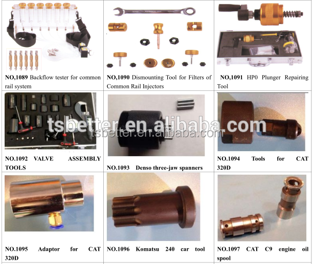 Common Rail Injector Pump Tools Repair 35pcs Auto Injector Repair ...