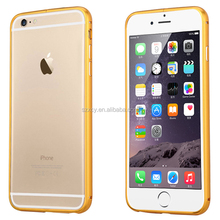 Newest!Luxury Arc round edge Aluminum metal phone case for iPhone 6
