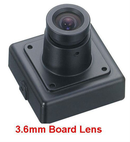 Wide Angle 3.6mm Board Lens 1080P Mini CCTV Camera AHD 1080P for ATM Machine