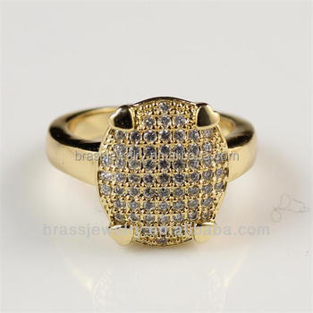 bd5b8f457 Amazing Hot Selling Unisex Micro Zircon Paved Different Types Trendy Gold  Rings