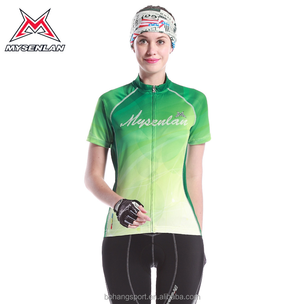 2015 Mysenlan M10015 short sleeve brand name cycling appare
