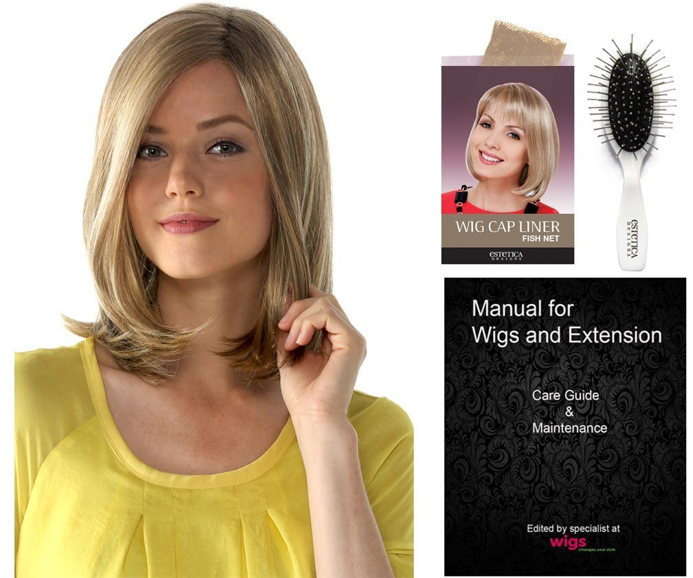 Buy Jayne Front Lace Line Wig By Estetica Designs With Hair Care Kit