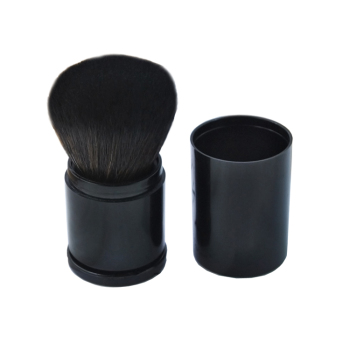 Einzel make-up pinsel kunststoff mini pinsel versenkbare erröten