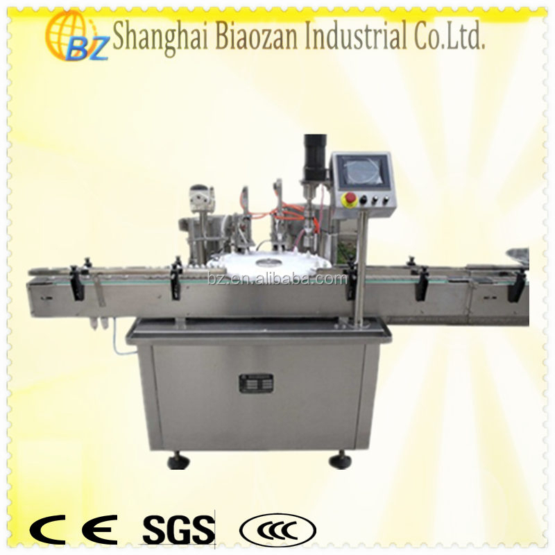 Automatic bottle cap trigger capping machine