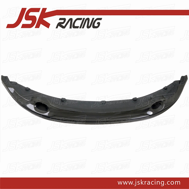 2010-2013 R STYLE CARBON FIBER FRONT LIP FOR BMW 1 SERIES 1M E82 E88 (JSK080913)