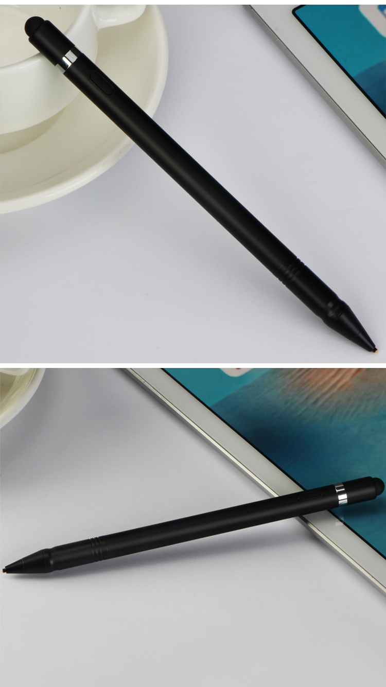 Wholesale super 1.45mm tip metal capacitive stylus pen active for computer