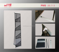 JIS7-3,Advertising exhibition display trade show promotion usage,Cheap Single Row Net Type Mesh pocket brochure holder
