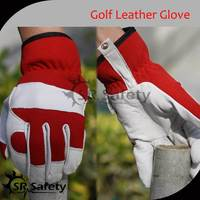 SRSAFETY Wholesale high quality cabretta leather golf gloves construction gloves