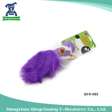 Fat cat pet animal tail different colors dog toys