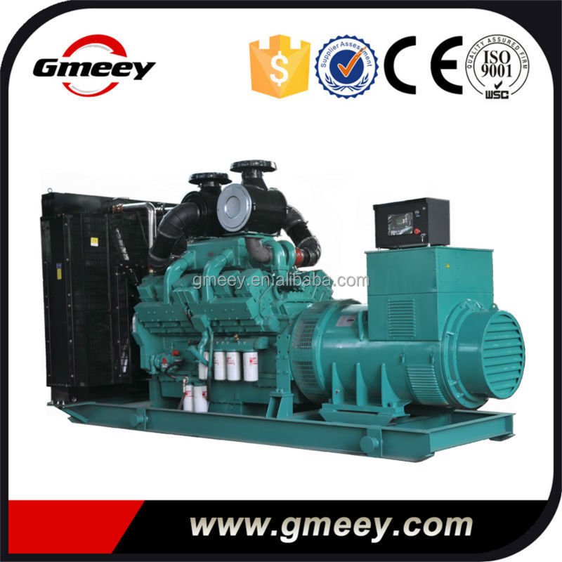 Price of 1000kva Diesel Generator Powered by Cummin without Canopy