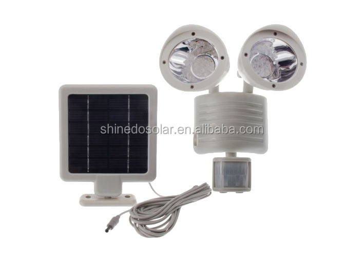 Mini Double Heads Outdoor Wall Security Pir Motion Sensor