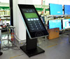 ipad floor stand advertising player touch kiosk 3G wifi PC