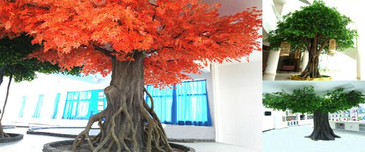 2015 Indoor Artificial Money Tree Plant Decorated Artificial ...