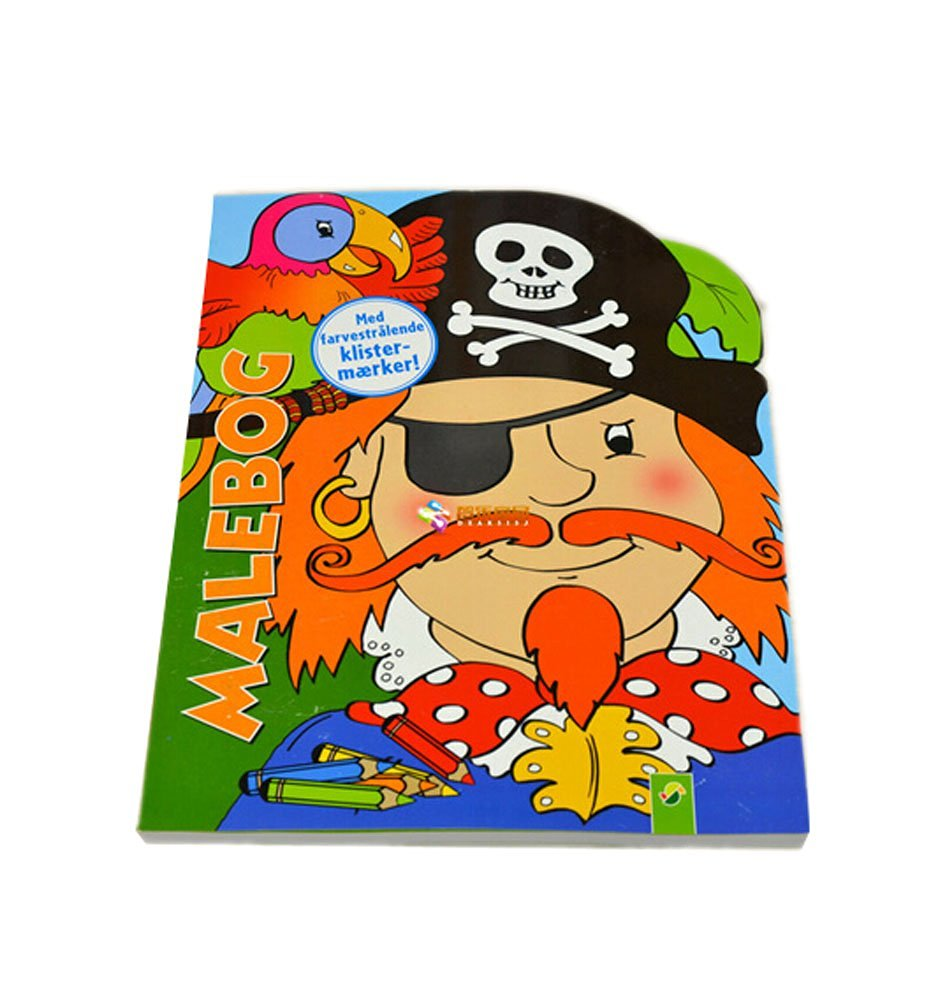 Creative Doodle Coloring Book Print Books Coloring Pages- Pirate