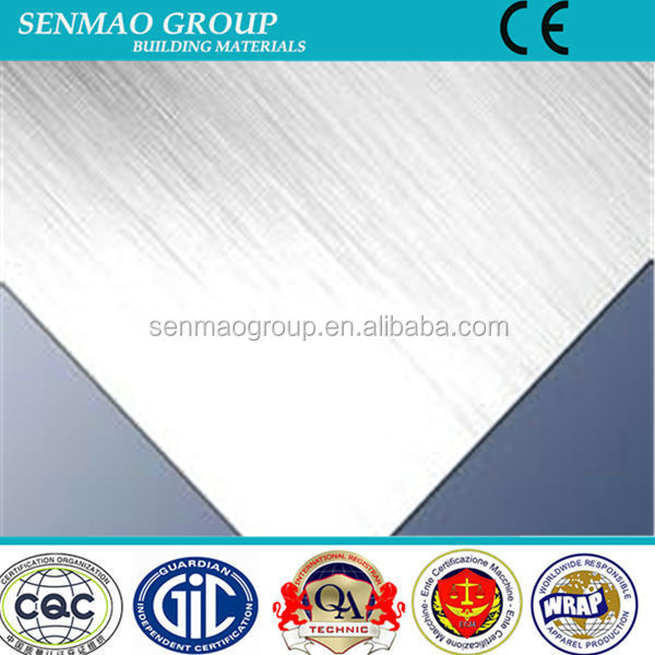 6mm Bending advertising bench material aluminum composite panel