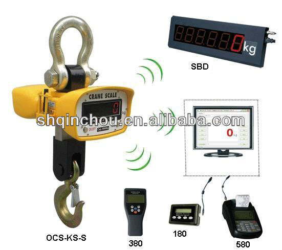 10t digital hook scales with digital loadcell