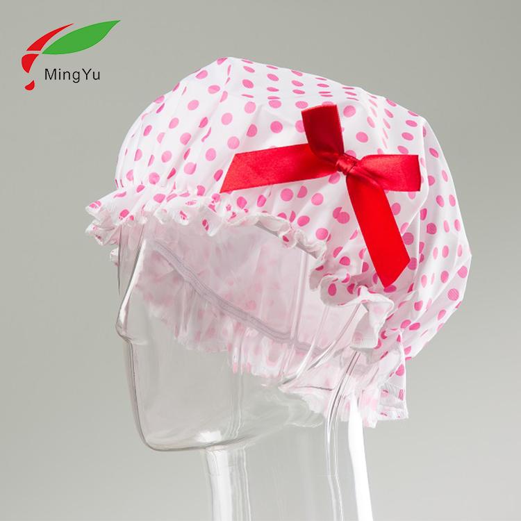 ขายส่ง Bonnet Perte De Cheveux หมวกอาบน้ำผมทิ้งหมวกอาบน้ำสำหรับผู้หญิงสาว