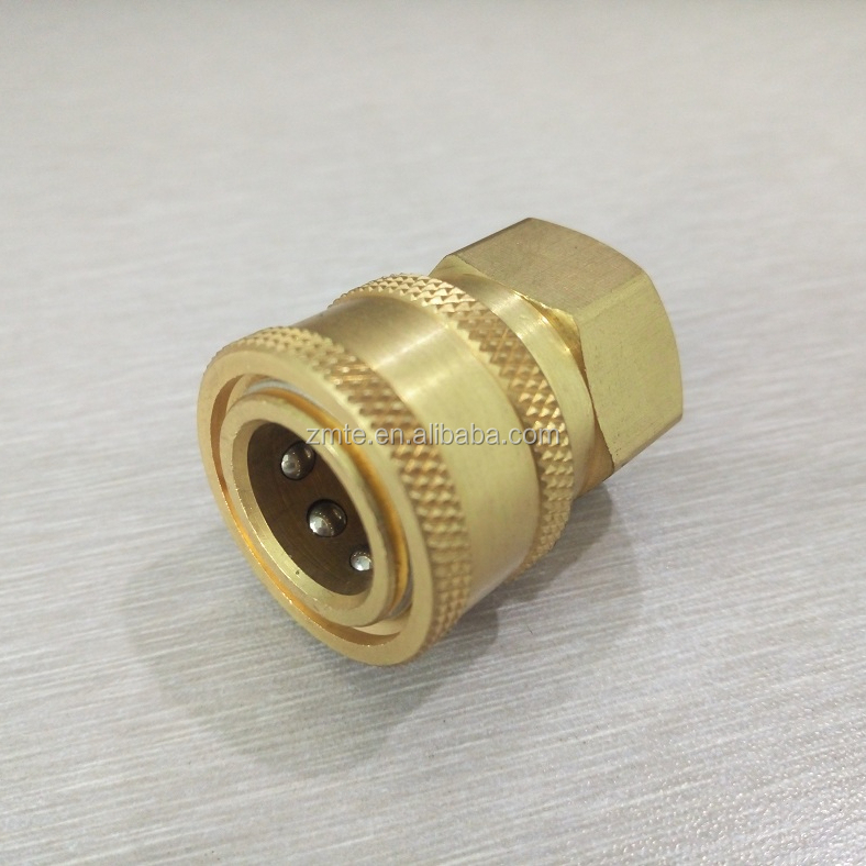 Female Quick Coupler For Hydraulic Machine