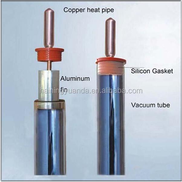 Solar Water Heater Parts Copper Heat Pipe Solar Vacuum