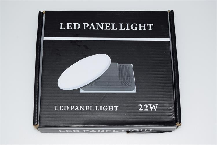 Ultra internal driver PF>0.9 cut out size 70mm round flat led panel light smd ceiling lamp 100lm/w CRI>80