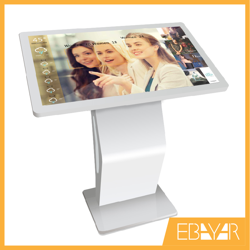 IR interactieve multimedia kiosk multi touch lcd display reclame