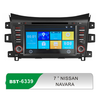 7inch android wince car dvd player with gps navigation for navara
