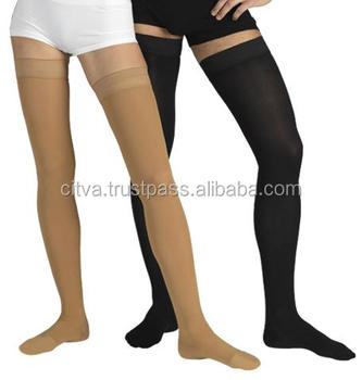 15bcbc3ca5 DELUXE COMPRESSION STOCKINGS Thigh High Knee Varicose Veins Support Sock