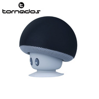 The Best Selling Unique Products From China Lovely Cartoon Mushroom Bluetooth Speaker With Suction Cup