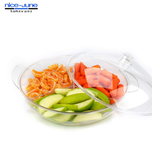Unbreakable BPA Free Acrylic Multi use serving tray