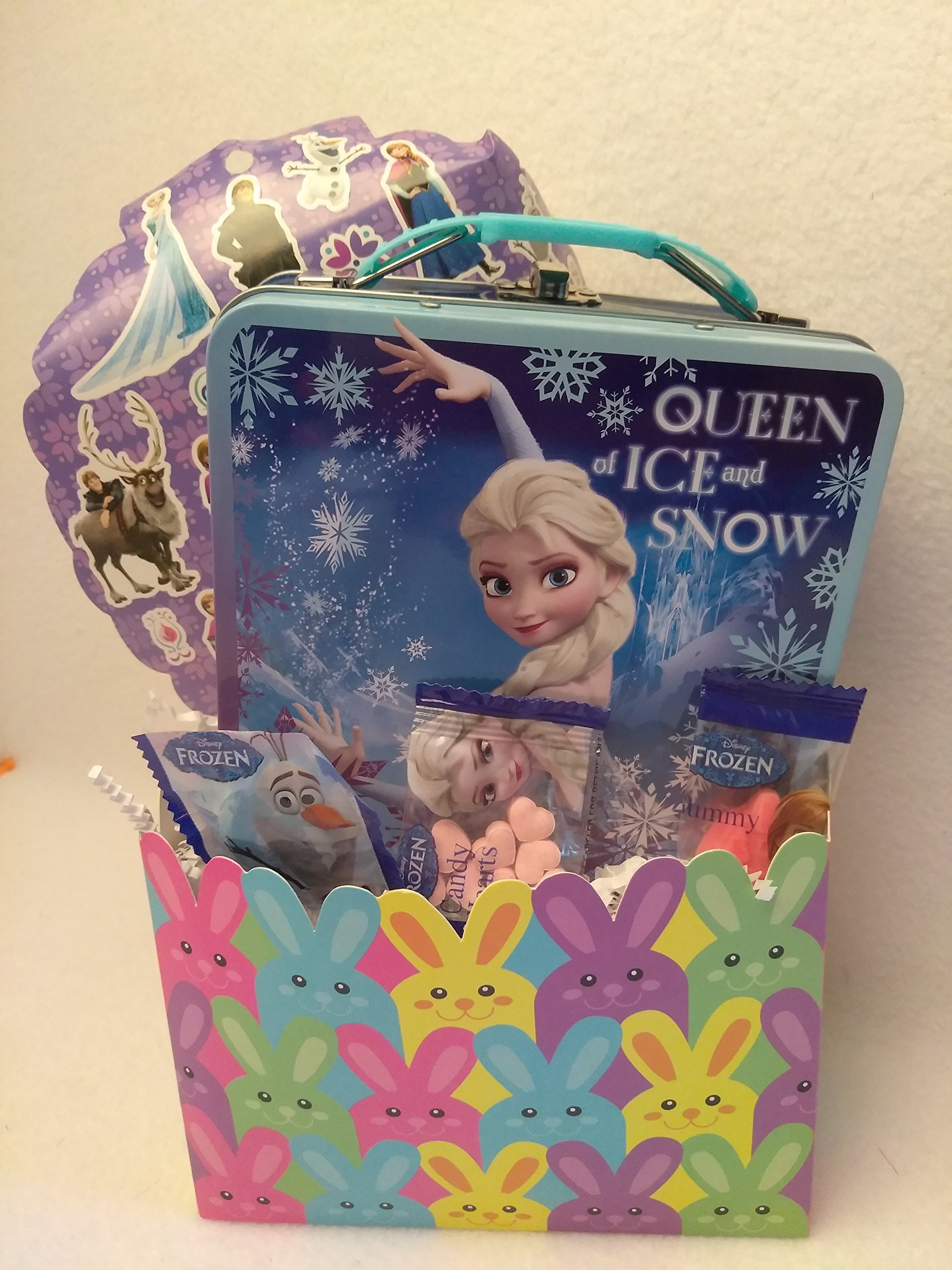 Cheap happy easter gift find happy easter gift deals on line at get quotations happy frozen anna disney fun easter basket kids toddlers gift children pre made eggs goodies candy negle Gallery