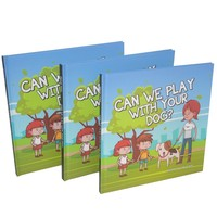 Cheap full color books can accept customized/kids color story book